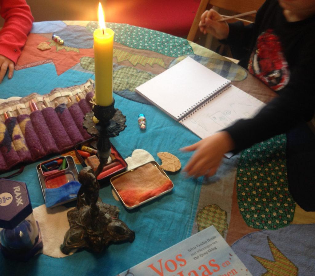 filosoferen kind in de praktijk van Denklus